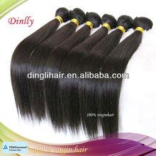 5a human virgin Brazilian hair extension Straight wave alibaba.com