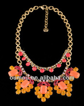 Bohemian Orange Sweater Fashion Jewelry Necklace Fine Necklace Flash Memory With Best Price For Wholesaler