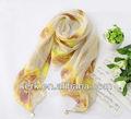 W3036 ningbo. lingshang jolie. hijab 100% polyester, plus beau foulard hijab nouveau style