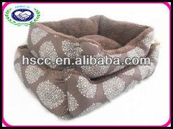 Cosey plush dog /cat pet beds supplier