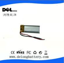 301030 3.7v 55mAh lithium polymer battery lipo battery