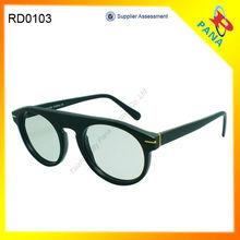 2014 Italy Design Ce Mark Round Frame Sunglasses FDA CE OEM