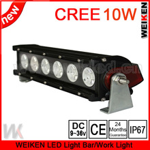 New product cree 60W single row led light bar protective covers