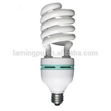 Half spiral 65W E27 6500K CFL bulb
