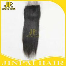 JP hair hot selling & new fashion virgin peruvian hair lace closures