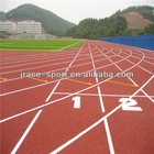 outdoor athletic tracks surface material