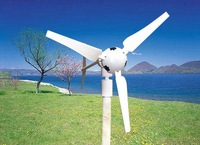 300W horizontal axis wind turbine HAWT wind generator for home use 2014 newest