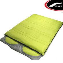 Double person luxury sleeping bag