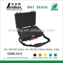 Colored Equipment Tool Case Hard Plastic Waterproof Dustproof