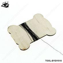 7.2 * 5.6 CM madeira bobinas carretel de madeira para diy acessórios de costura decoração diy