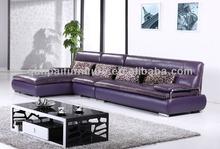 sofa modern design purple sofa purple sectional sofa F869#