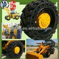 Mini-barata sólidos roda loader otr 17.5-25 para venda em dubai/china, solid pneu loader