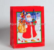 hot sale christmas paper carrier bag