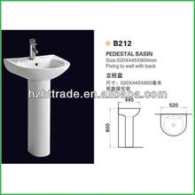 cuenca del modern smooth wash ceramic unique pedestal sinks