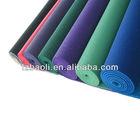 TPE high quality yoga mat , used gymnastics equipment