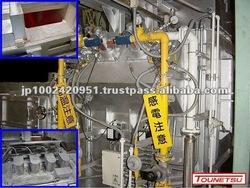 Die casting aluminium melting furnace / holding furnaces