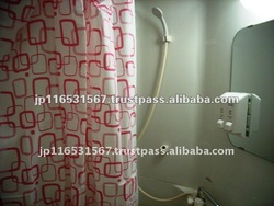 Eva Japanese Design Shower Curtain Pink Color - Buy Japanese ...