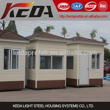 Prefabricated guard house / sentry box / kiosk / store for sale