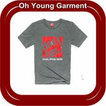 Men O-neck printing t shirts (OY0910)