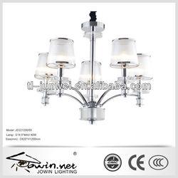 Hot sale new design CE approval modern plastic shade chandelier