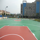 Silicon PU flooring used basketball court