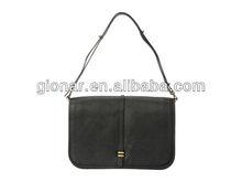 2013 latest elegant black leather baguette bag ladies/designer handbag for woman/celebrity shoulder bags Guangzhou MX8244-1