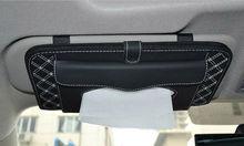 Car Tissue Box Sun Visor CD Holder Case