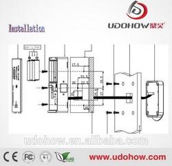 Metal shell Electronic digital lock for lockers