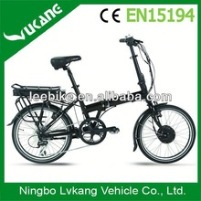 alloy min folding electric bike/bycicles with best quality