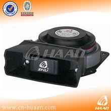 100W Police siren horn outdoor flat speaker