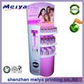 Venda quente cosméticos display de balcão com mulheres sexy de fotos para a exposição, pop up/loja contador/loja contador de design de cosméticos