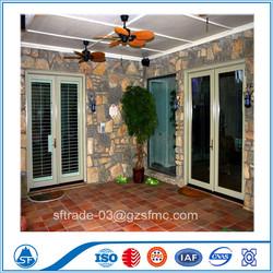 Thermal Break Aluminim Casement Doors And Windows With Grill