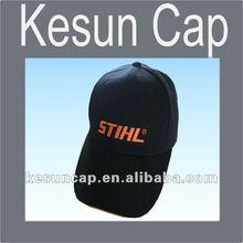 2012 new style cotton black cheap Baseball Cap