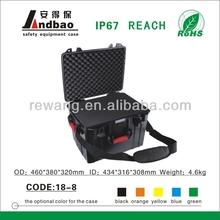 IP68 ABS plastic waterproof portable tool cases
