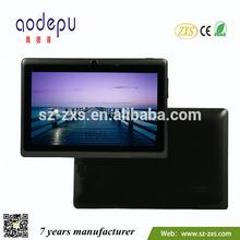 Best choice mid slim cheap tablet pc skype video call Q88+WIFI+8GB+dual camera ZXS-1