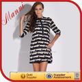 Diferentes tipos de vestidos del vestido del vendaje barato todos los tipos de las para mujer vestidos