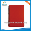 Plastic Cover Spiral Stone Paper White Pages Dirary Notebook