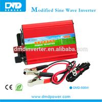 high quality 500W/DC12v to AC 220V electric convertor for car