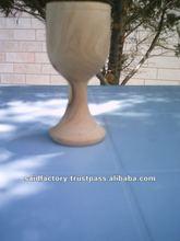 olive wood wine cup/wooden wine cup/wood wine cup