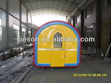 200cm Width Fiber Glass Mold Kiosk Carts Kiosko Bar