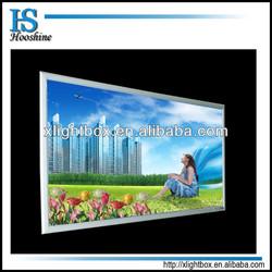 Hot sale LED slim light box/light frame/Snap aluminum frame