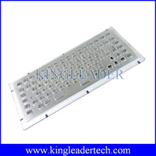 Low Cost,High quality 86 keys vandal-proof industrial metal Keyboard