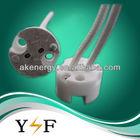 Customize acceptable ceramic gu5.3 halogen lamp holder
