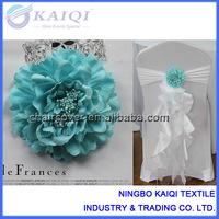 aqua wholesale wedding flower decoration, cheap flower clip #19119