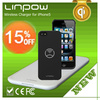 2014 new products QI Standard Newest Design Linpow Wireless Cell Phone Charger Pad for iPhone5/5s/5c