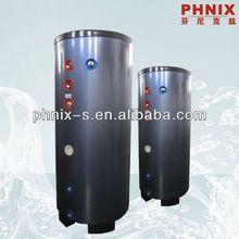 Pressure split insulated hot water tank