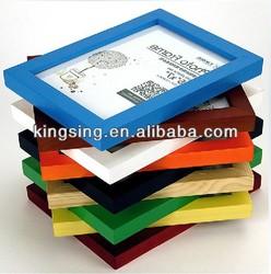 plastic PS wood photo frame