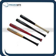 color mached bate de béisbol de madera de pino baratos bate de béisbol