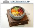 Natural granite stone bowl