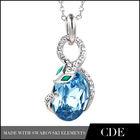 2013 popular crystal snake necklace